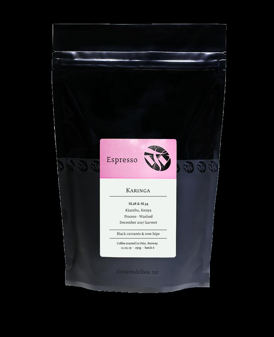 Karinga Espresso 250g bag-0