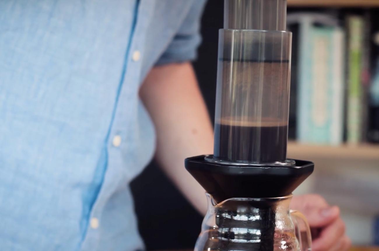 How to make coffee with Aeropress