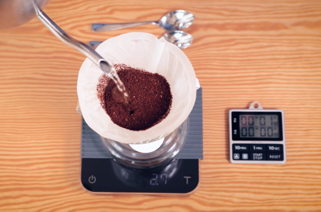 How to make pourover coffee and filter coffee