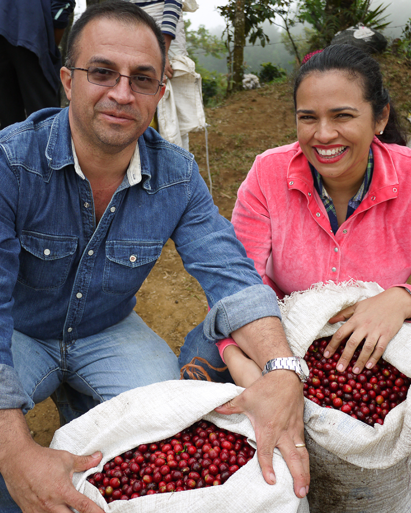Coffee from Honduras, farmed by the Caballeros