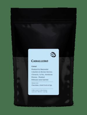 Caballero Catuai Honduras light roast coffee