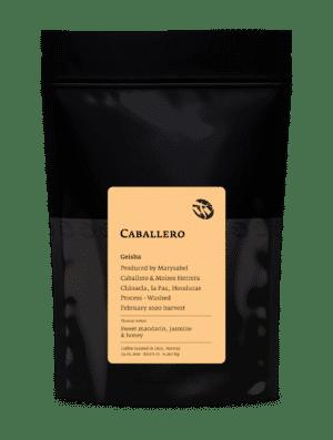 Caballero Geisha whole coffee beans