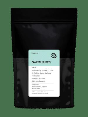 Nacimiento Pacas - Fruity Espresso Coffee from Honduras