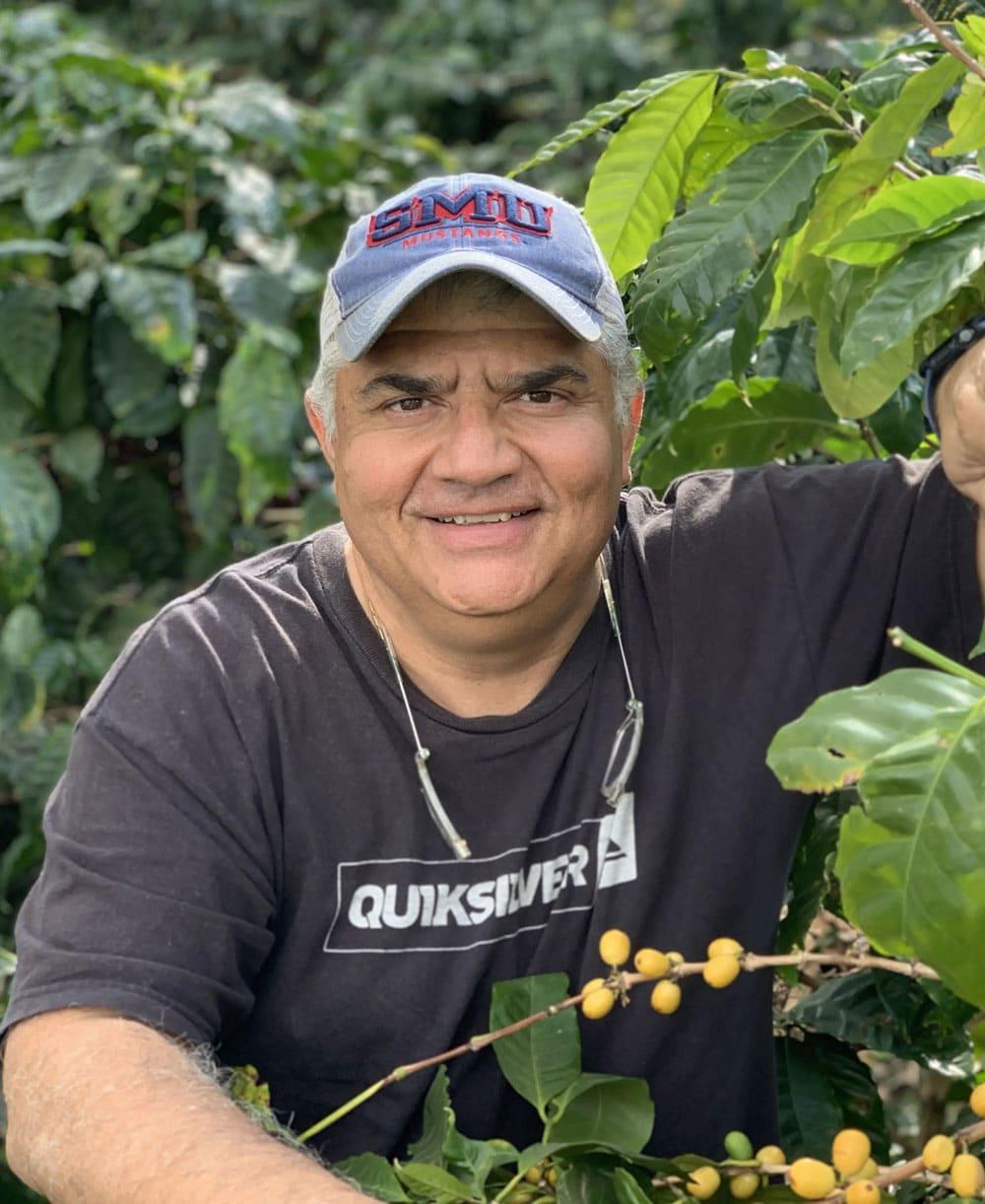 Gilberto from Los Pirineos Coffee Farm