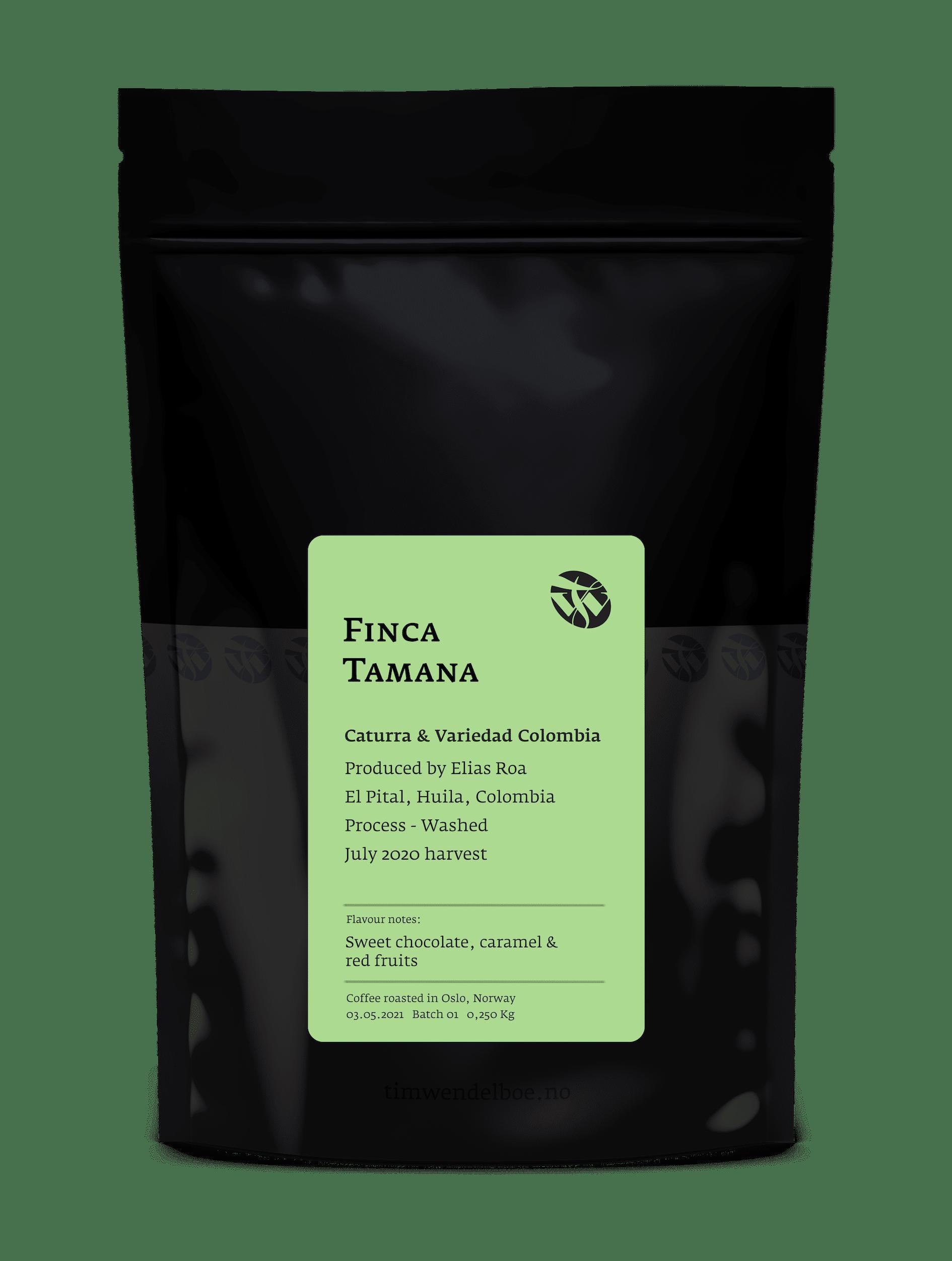 Finca Tamana Colombian Light Roast Coffee
